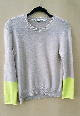 Jac + Jack Fine Cosy Mohair Blend Sweater Knit - Size S