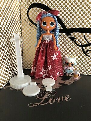 LOL Surprise OMG WAVE 2 Snowlicious Fashion Doll And Snow Angel Tot
