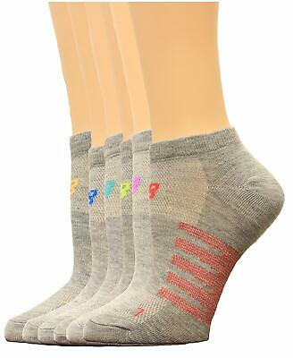 New Balance N850-6-ASTS2 6 Pack No Show Grey Kids Socks