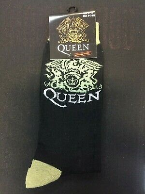 Official Licensed - Queen - Crest Ankle Socks Size 7/11 Freddie Mercury Rock