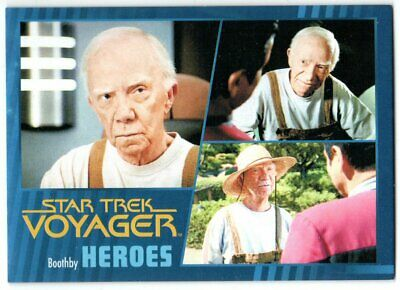 Star Trek Voyager Heroes & Villains Base Parallel 20 Boothby 058/100