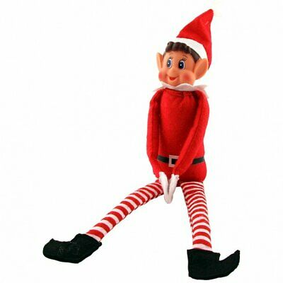 "12"" Naughty Red Elf Elves Behavin Badly On The Shelf A Boy Christmas Accessories"