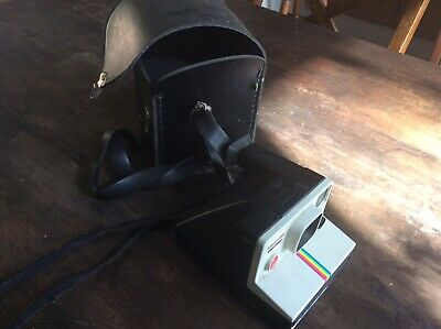 Original Retro Polaroid Camera Working And Case