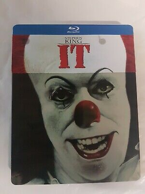 It Steelbook Blu Ray Rara fuori catalogo