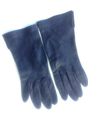 Vintage Art Deco leather Style Women's Gloves