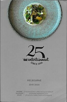 Vouchers Only - Melbourne Entertainment Book Voucher 2019/2020 Pick 1 Voucher