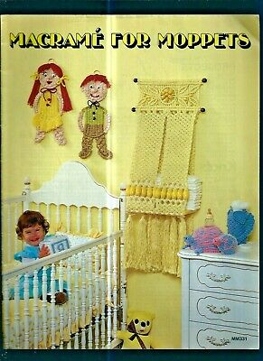 MACRAME for MOPPETS...1978