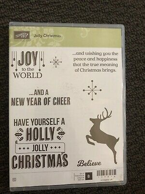 STAMPIN' UP!  Jolly Christmas stamp set