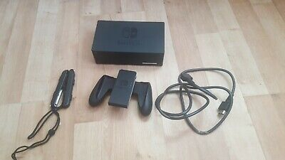 Official genuine nintendo Switch dock with hdmi joy con grip and straps bargain