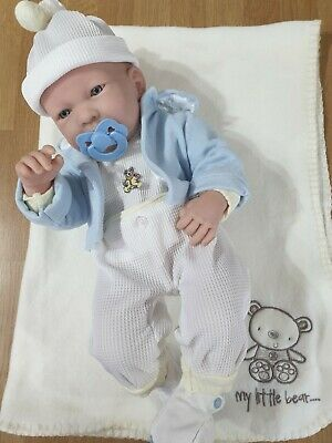 Berenguer Doll 17 inch LA newborn Anatomically correct boy doll.