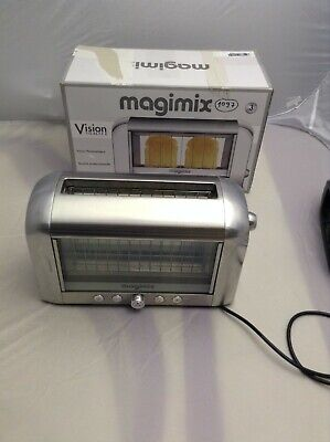 Magimix  Vision Toaster 2 Slice  long silver