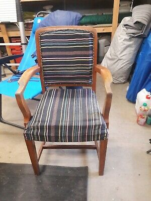 Wooden Carver Dining Chairs x 2 sold as a pair.
