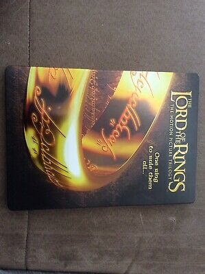 lord of the rings trilogy steel book Dvd 6 Disc Set