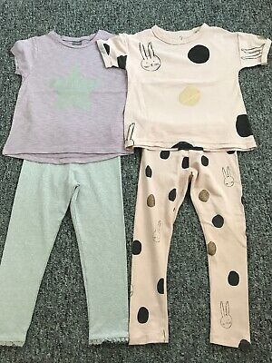 Next two leggings/top sets 3-4 years