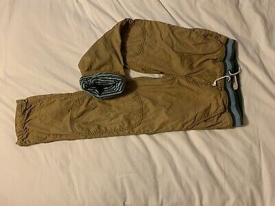 boys mini boden lined trousers age 9 years