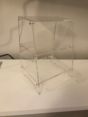 Plastic Clear Three Tiered Display Stand