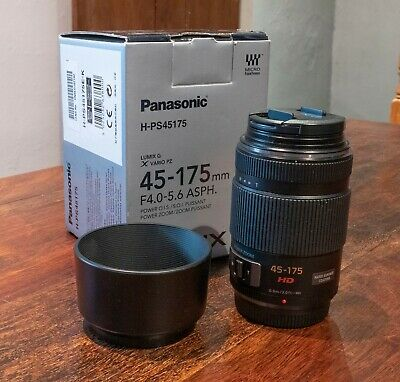 Panasonic 45-175mm F4.0-5.6 Asph. Lens excellent condition, hardly used