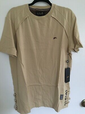 NWT MENS A Tiziano SHIRT SAND ROSS LARGE