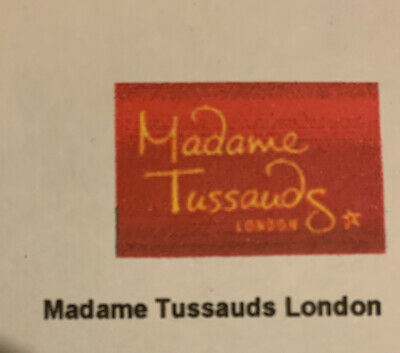 2 X MADAME TUSSAUDS LONDON TICKETS - SUNDAY 1st MARCH 2020 5:45PM