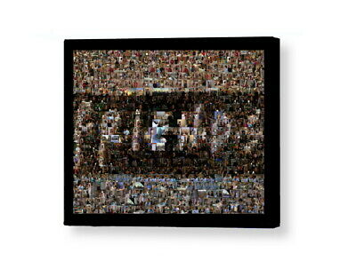 Amazing Framed FRIENDS TV Show Scene Mosaic Limited Edition Numbered Art Print