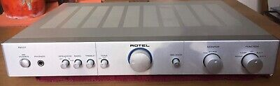 Rotel RA-01 Audiophile Integrated Amplifier: 5 Stereo inputs + built-in Phono