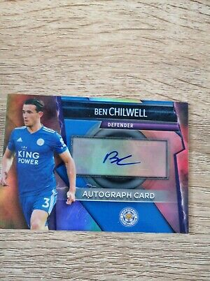 Match Attax Ultimate 2018/19 Ben Chilwell Autograph Card Mint