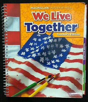 1st - 2nd Grade WE LIVE TOGETHER (TEACHER'S EDITION) Social Studies (2005)