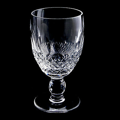 Authentic Waterford COLLEEN Short Stem Claret Wine Glass Hand Blown Cut Crystal
