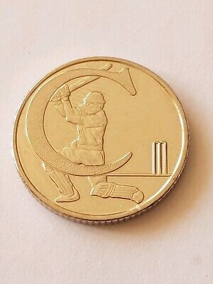 NEW A-Z 2018 ALPHABET 10p COIN HUNT- LETTER C - CRICKET UNCIRCULATED