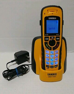 UNIDEN Dect 6.0 Phone Waterproof Submersible  Handset and Cradle Charger