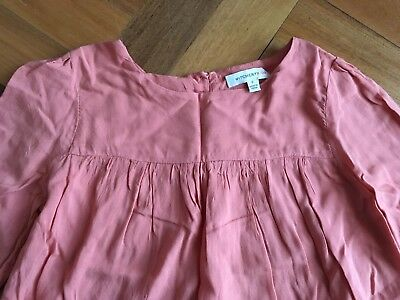 WITCHERY KIDS girls Long sleeve blouse coral size 6