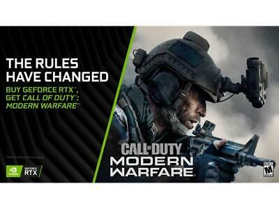 Call of Duty: Modern Warfare PC NVIDIA Code Requires RTX 2060/2070/2080(Ti)