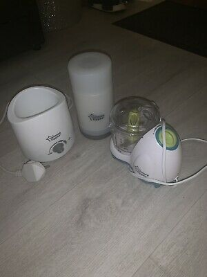 Tommee Tippee Bundle - Bottle Warmer, Travel Warmer and Blender...MINT CONDITION