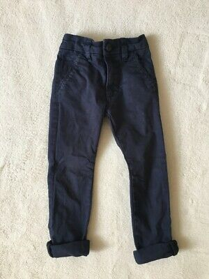 ***Next boys Navy skinny chino trousers 3 years***