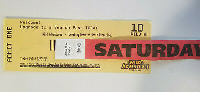 Wild Adventures Theme Park Ticket + All-You-Can-Drink Armband, Exp 12/29/2019