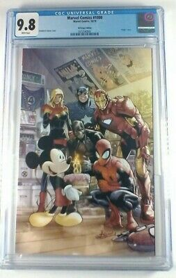 Marvel #1000 🔥 D23 Expo Virgin Cover 🔥 First Mickey Mouse! CGC 9.8 Limited!