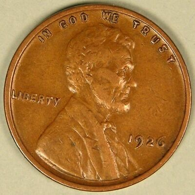 1926 Lincoln Wheat Penny - G/VG