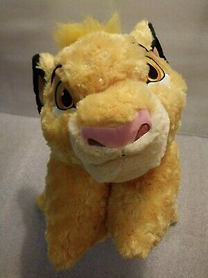 Disney Parks Lion King Simba Nila Pillow Pet Plush Dream Friend Yellow Large 22""