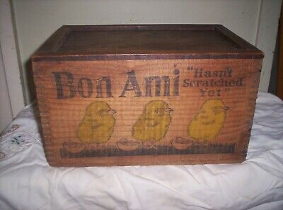 Bon Ami Collectable Timber Box
