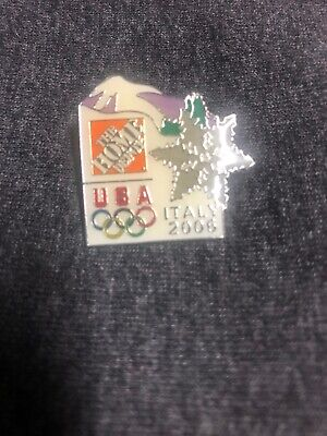 Home Depot 2006 Italy Sponsorship Olympic Apron Pin