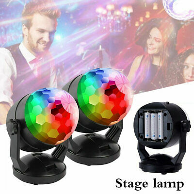 LED RGB Stage Light DJ KTV Disco Party Outdoor Garden Lamp Laser Projector Decor