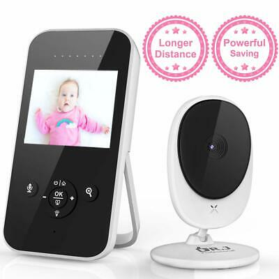 "Video Baby Monitor, 2.4"" LCD Digital Camera with Auto Infrared Night Vision, Pow"