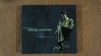 The Great David Ruffin-The Motown Solo Albums by David Ruffin (2-CD 2005) MOTOWN