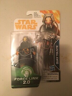 Star Wars Quay Tolsite Solo Movie Force Link 2.0 3.75 IN Action Figure New