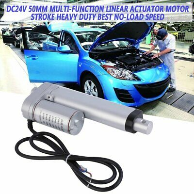 DC24V 20mm-400mm Multi-function Linear Actuator Motor Stroke Heavy Duty#^