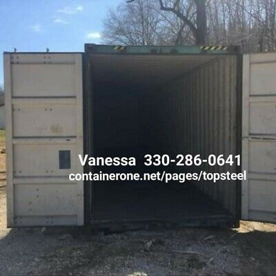 Steel Conex Cargo Storage Shipping Containers