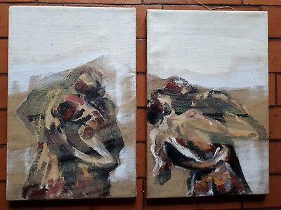 Pair of original paintings