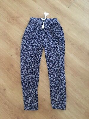 Girls Trousers/longe Pants Age 10 TU