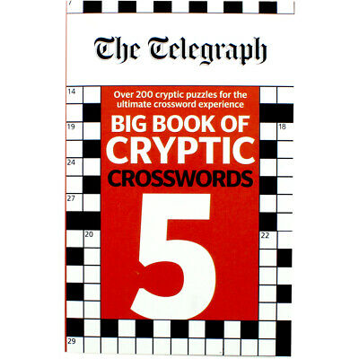 The Telegraph Big Book of Cryptic Crosswords (Paperback), Non Fiction Books, New