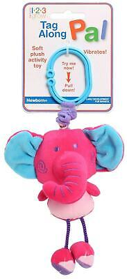 123 Grow Tag Along Stroller Pal (Elephant) Free Shipping!